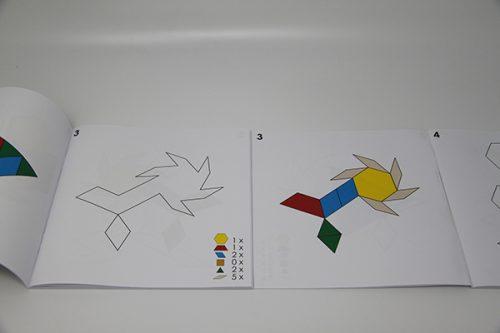 Primjeri za slaganje geometrijskih oblika
