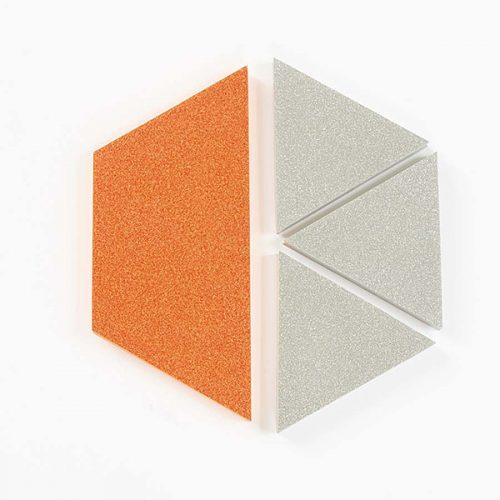 EY03260 Sjajne jumbo pločice za slaganje mozaika