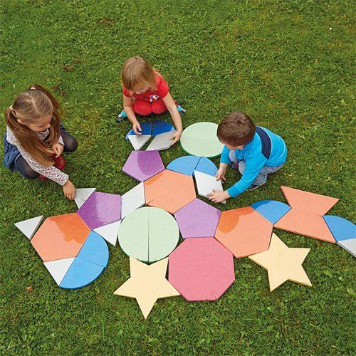 EY05076 Sjajne jumbo pločice za slaganje mozaika 2