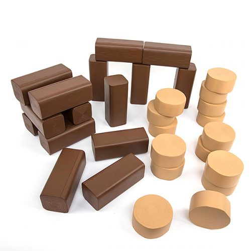 EY06100 Plastični trupci za igranje drvosječe