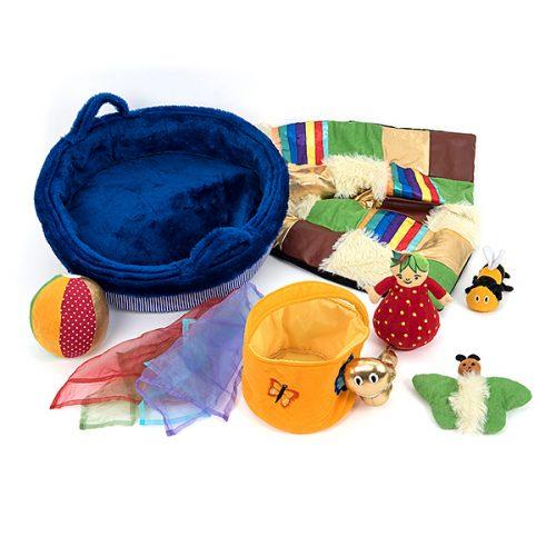 EY10441 Košara od tkanine za meke predmete