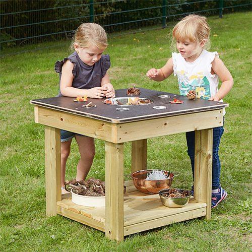 EY10506 Drveni stol za sakupljanje predmeta