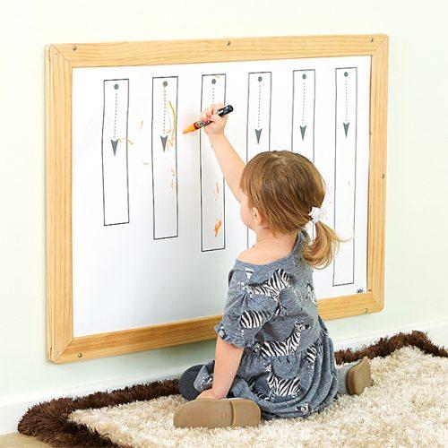 EY10581 Veliki drveni okvir za pisanje