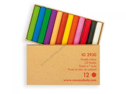 IG2930 Uljne pastele XL 12 boja