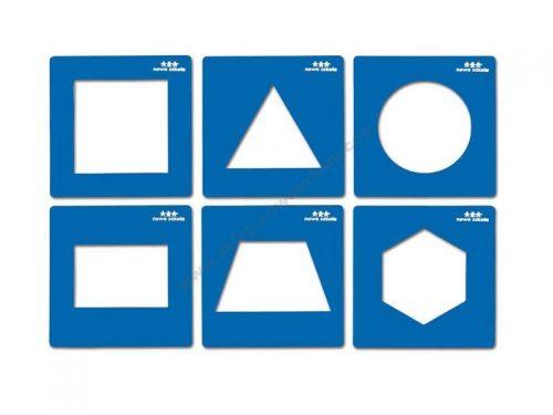 NS0912 Šablone geometrijskih oblika