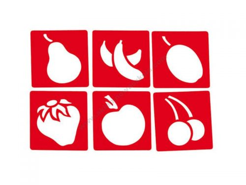NS0920 Šablone oblika voća