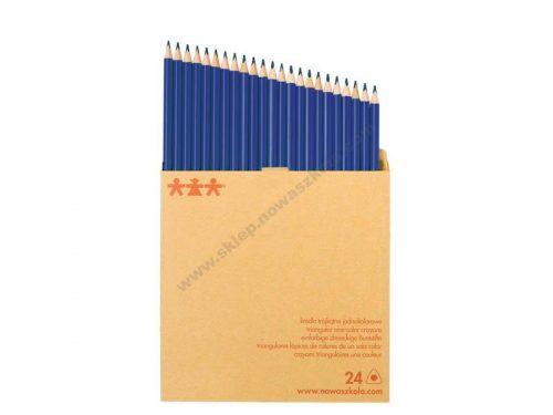 NS1090 Komplet drvenih bojica jedne boje - Plava
