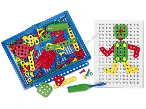 NS4035 Plastična kutija s blokovima imitacije cigle - Pločica mozaika