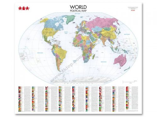 NS8347 Svjetska karta političkog uređenja