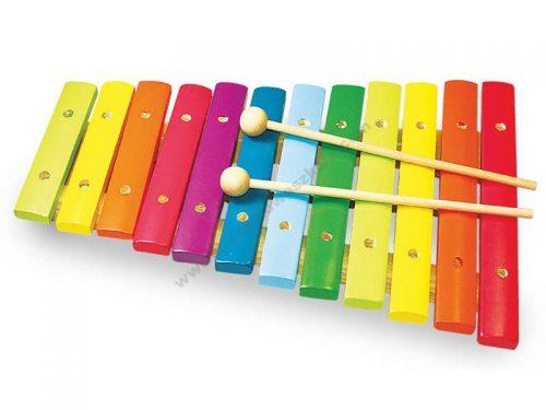 NT9302 Drveni ksilofon boja duge