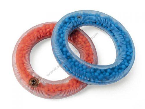 US0033 Prsten za bacanje ispunjen zrncima - Plavi